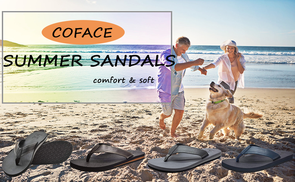 3ad7fc43c This men summer beach sandals double soft layer sole with arch support