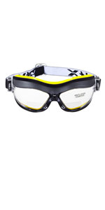 voltX CONSTRUCTOR BIFOCAL Reading Safety Glasses CE EN166F Clear UV Class 1