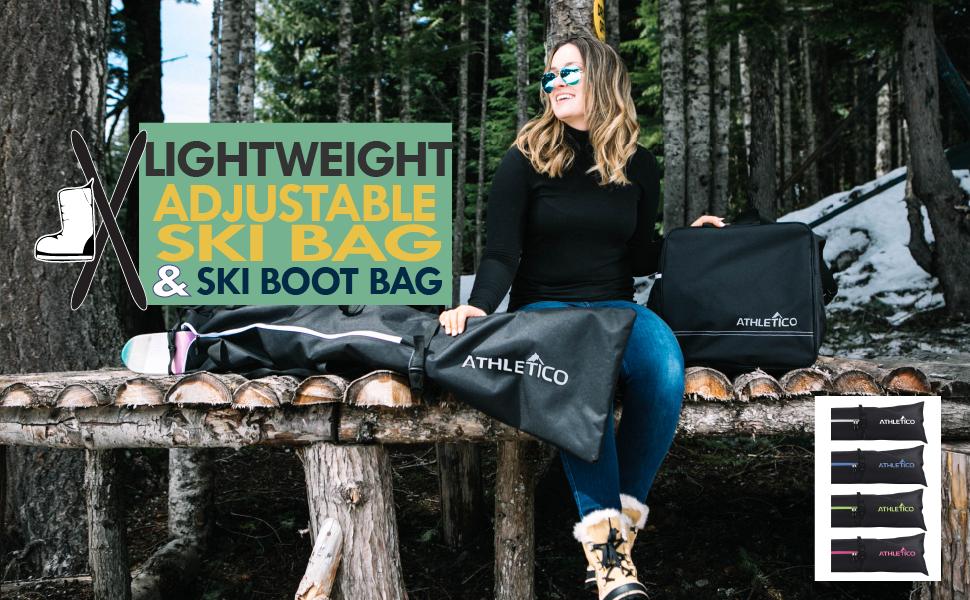 Adventure Ski and Boot Bag Combo