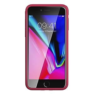 red iphone 7 plus case cover