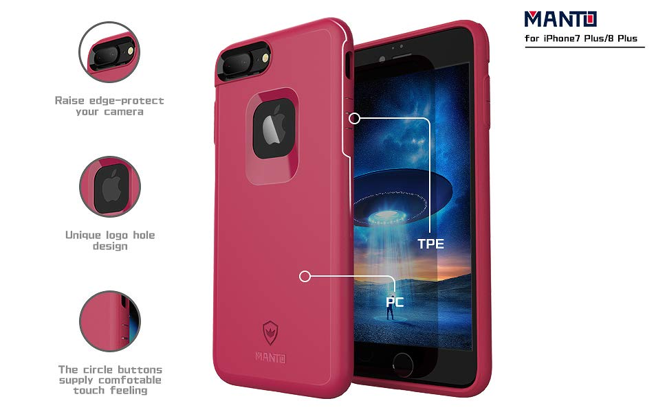 iphone 7 plus full coverage hard case