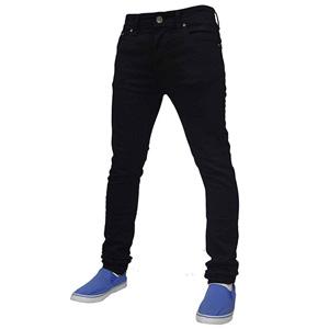 Mens True Face Denim Jeans Black