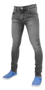 True Face Mens Denim Skinny Jeans