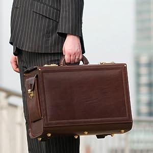 4f8f73f7d98 Maxwell-Scott® High Quality Men s Tan Luxury Italian Leather Pilot ...
