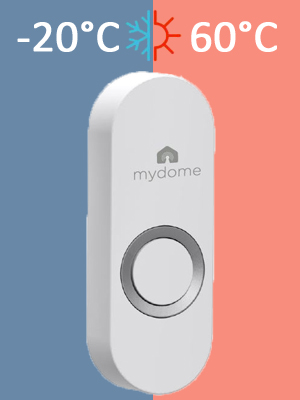 ring transmitter waterproof button wireless doorbell receiver chime contemporary bell alarm modern