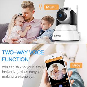 Wifi Camera With 2-Way Audio