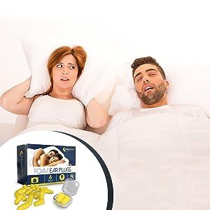 Woman kept awake by snoring partner