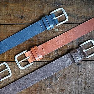 British Designed Leather Belts Thistleton Belt
