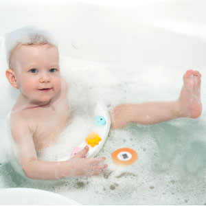 MotherMed Baby Bath Thermometer and Floating Bath Toy BathTub and ...