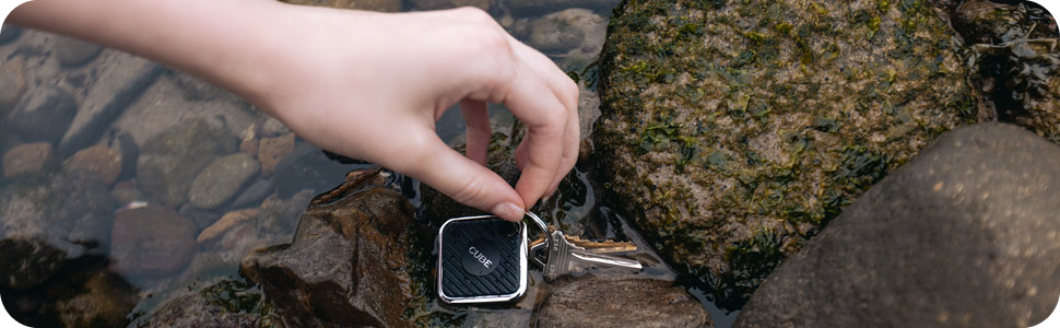 cube, waterproof, find lost keys, track, locate, bluetooth tracker