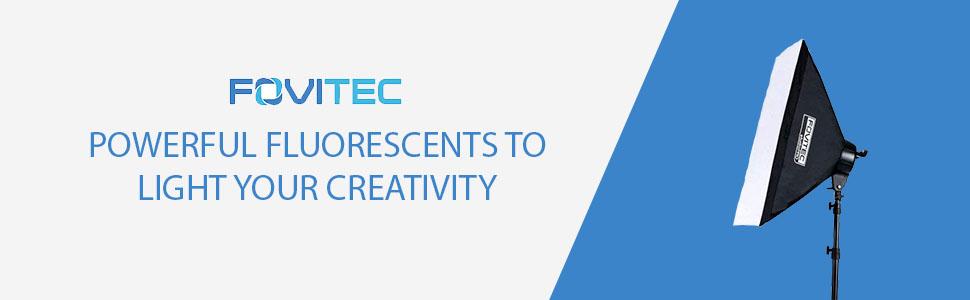 FLUORESCENT Lighting Soxtbox Met Schrijven Krachtige fluorescerende middelen om uw creativiteit te verlichten door fovitec