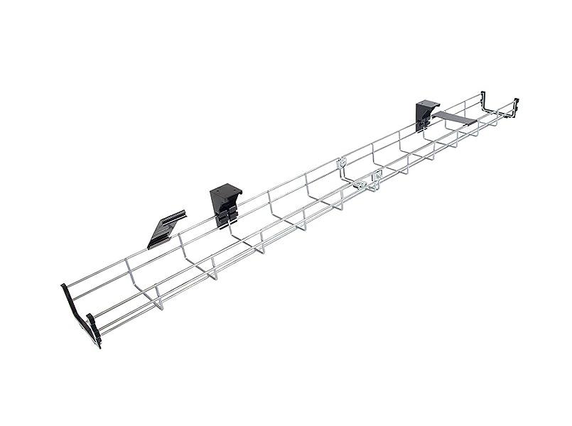 Allcam 80cm Long Under Desk Cable Tray Basket Amazon Co Uk Electronics