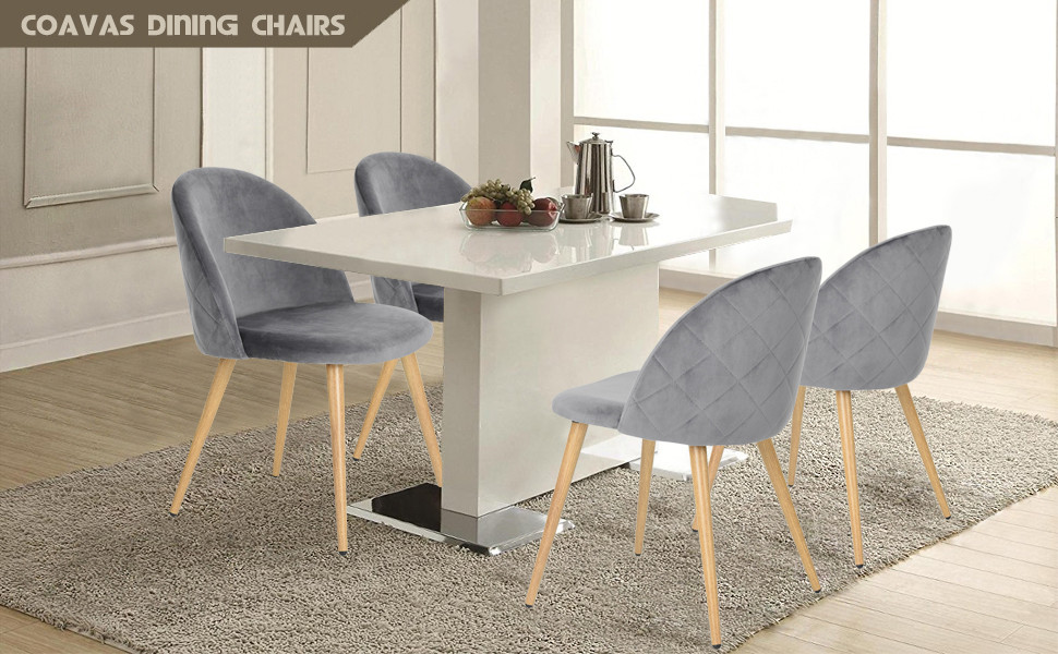 Main Data Of Dining Chairs Set Of 2/coffee Chairs/living Room Chairs/conference  Chairs/grey Dining Chairs/dining Room Kitchen Chairs: