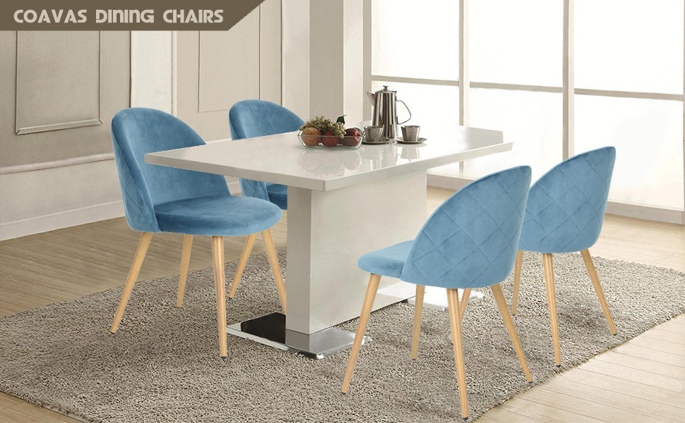 Superior Main Data Of Dining Chairs/coffee Chairs/living Room Chairs/conference  Chairs/blue Dining Chairs/dining Room Kitchen Chairs Set Of 2: