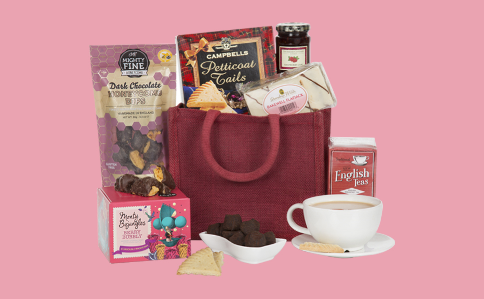 Hamper For Her Hampers Gift Basket Sweet Treats Amazon Prime Christmas Xmas Birthday