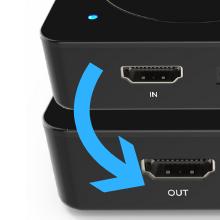 ClonerAlliance HDML-Cloner Box, Standalone Mini 1080p gaming and video  capture box  Lag-free video pass-through  No PC required