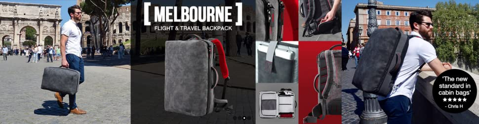 6a018369ee Melbourne Advanced Flight   Travel Backpack 55 x 35 x 20 Carry on ...