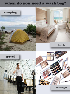 campact washbag be used in travel,camping,hotel,storage