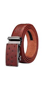 automatic buckle reversible belt