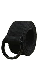 military black mens womens belts canvas work belt