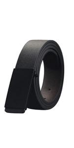 mens belts black leather belt
