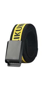 adjustable canvas tactical belt