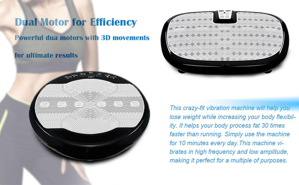 Fitness Vibration Platform,Whole Full Body Shape Exercise