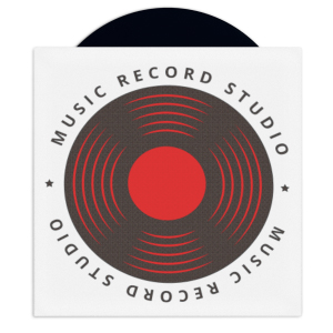 picture about Printable Vinyl Record Labels identified as TunePhonik Uncoated Printable 12\