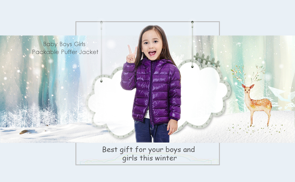 2e59a0750 Oriental Pearl Baby Boys Girls Lightweight Hooded Down Coat Packable ...