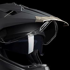 visière visiere casque motocross cross