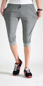 mens 3/4 shorts