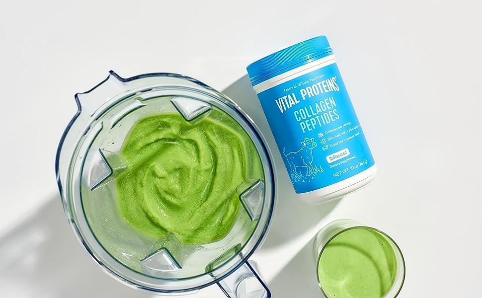 collagen green smoothie