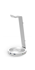 OMARS Headphones Stand Aluminum Headset Holder