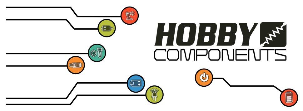 Hobby Components USB 24M 8CH 24MHz Logic Analyser, 1 1 16