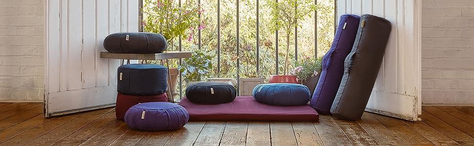 basaho meditation cushions
