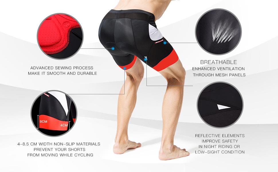 Padded Road Bike Shorts