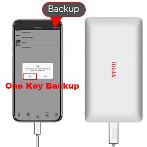 one key backup