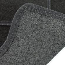 Carsio Tailored Black Carpet Van Mats for Citroen Relay 2006 Onwards 1 Piece Set with 0 Clips