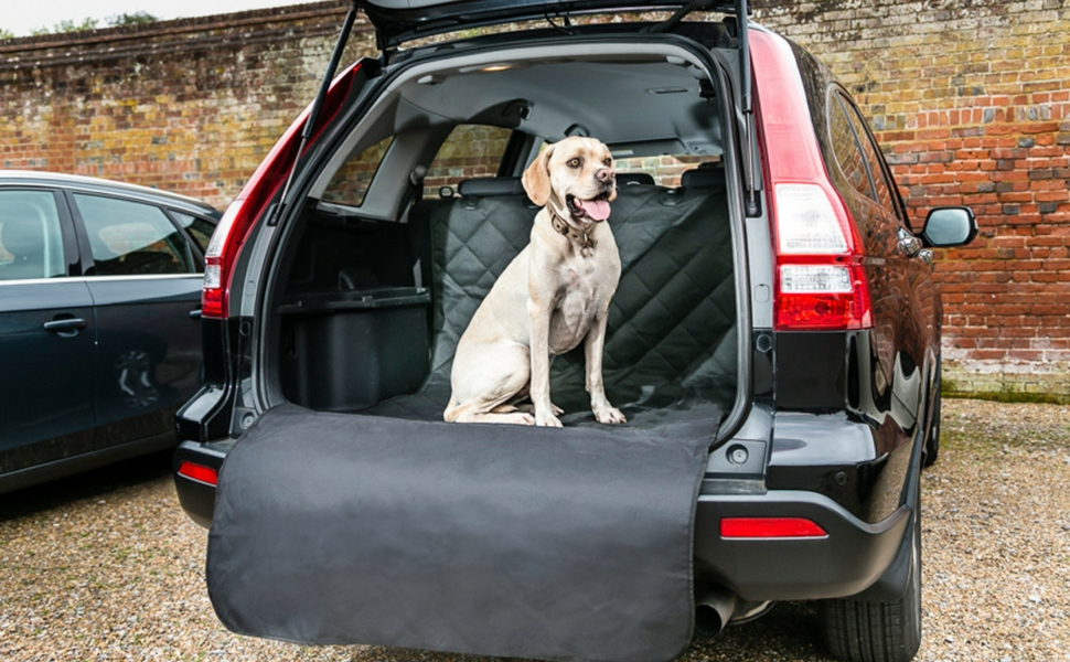 Large Heavy Duty Waterproof Car Boot Liner Protector Pet Dog Floor Print Cover