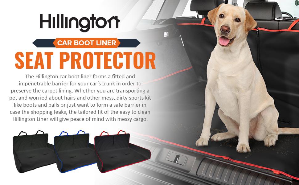 HILLINGTON CAR BOOT LINER HEADER SEAT PROTECTOR