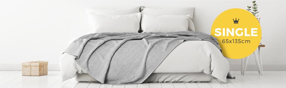 Cosi Home Electric Blanket Single