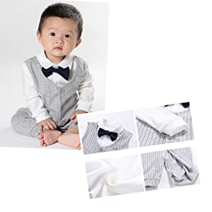 a3ea331e2 Fairy Baby Baby Boy Outfits Gentleman Formal Outfit Long Sleeve ...
