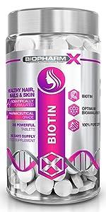 biotin hair growth supplement nail growth skin health