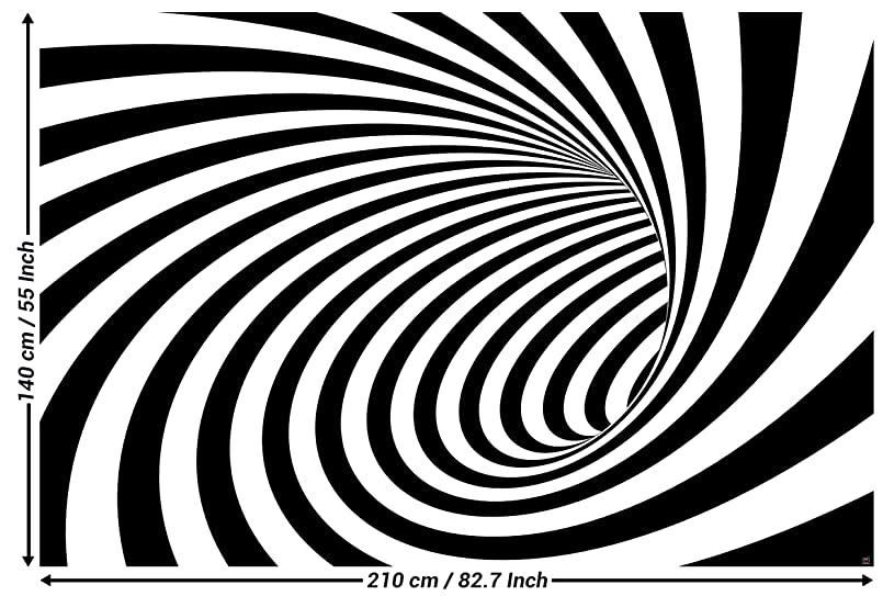3d photo wallpaper tunnel black white wallpaper wall picture decoration modern abstract spiral optical illusion picture sample wallpaper i decorations