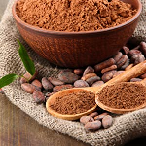 Cacao Orgánico en Polvo, Superalimento Vegano y Sin Azúcar - 400g ...