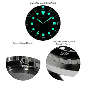 Pantor orologio subacqueo Pantor, Pantor orologio subacqueo, Pantor orologio da uomo