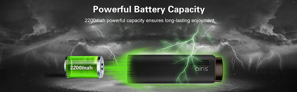 Power battery capacity
