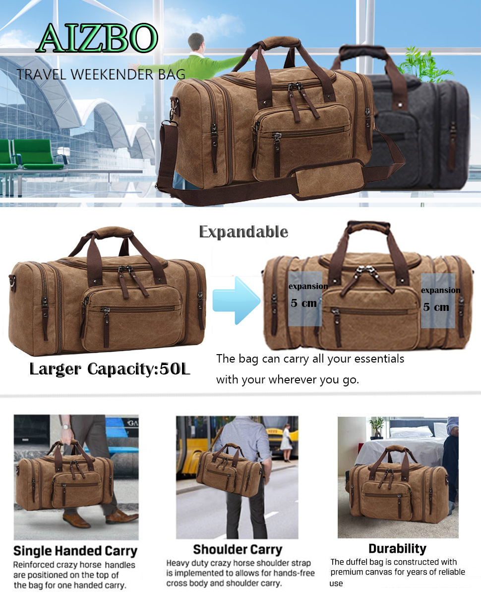 Domila Travel Duffle Bag
