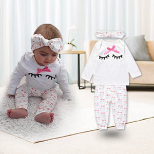 baby clothes infant kids girl outfit sets cotton toddler clothes suits  unisex newborn sleepwear c82b0a306