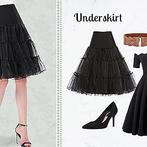 vintage underskirt for women